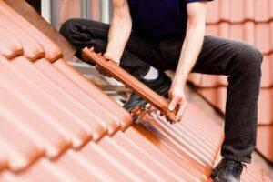 New tiles on roof repair in hobart tas